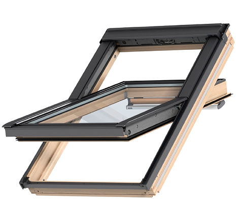 okna dachowe velux ggl 3073 78x98 szyba bezpieczna dachy. Black Bedroom Furniture Sets. Home Design Ideas