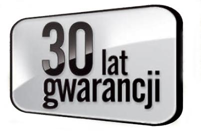 Znalezione obrazy dla zapytania 30 lat gwarancji budmat